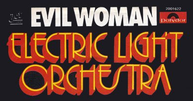 evil woman ELO album cover