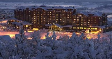 Steamboat Grand Hotel at Steamboat Colorado