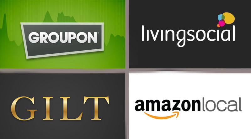 daily deals groupon living social gilt and amazon local