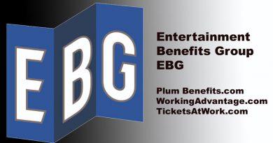 Entertainment benefits group logo EBG