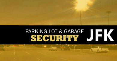 parking lot security at JFK airport