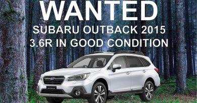 Subaru outback wanted