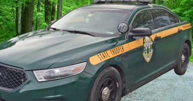 Vermont State Police Car