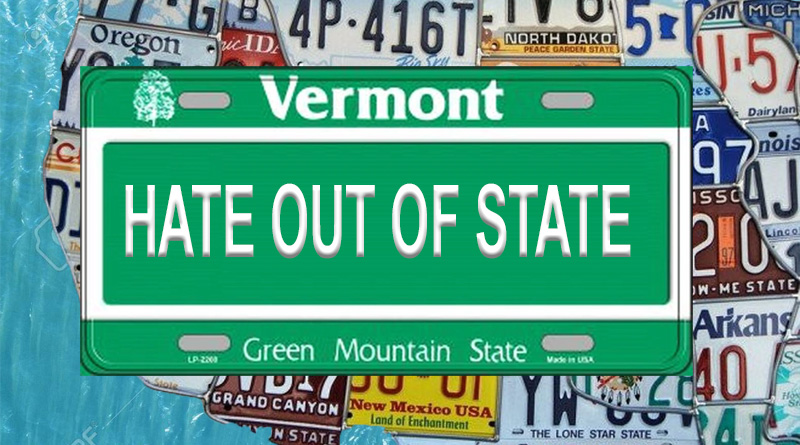 Vermont police hate out of state plates